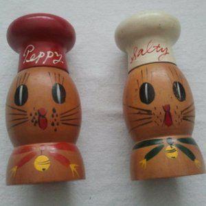 Vintage Kitten Salty and Peppy